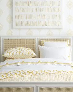 Don't be afraid of a little color | Cortina Quilt via Serena & Lily