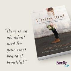Lysa TerKeurst gracefully equips you to prayerfully restore your confidence in her latest title Uninvited. #uninvitedbook #LysaTerkeurst