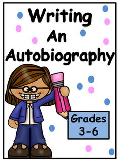 This unit shows students, with step by step activities, how to write an autobiography. Students will love this writing unit! This unit will help students' abilities in observing, concluding, understanding, recalling, applying, analyzing, synthesizing and evaluating.