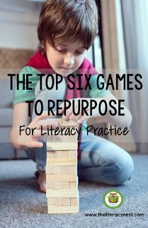 This post is full of ideas on how teachers can repurpose classic games. Use Jenga to help your kids practice vocabulary, spelling, or phonics. Interactive games like Connect Four and Operation and various board games can be used for English language arts. Gross motor games can help students with phonemic awareness while getting them moving. Check out this post for even more wonderful ideas that are perfect for your upper and lower elementary classes. {1st, 2nd, 3rd, 4th, 5th grade}