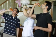 Funny baby shower game for the guys!