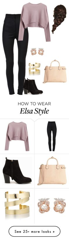 """Untitled #1"" by lram-1 on Polyvore featuring Dolce&Gabbana, Chicnova Fashion, Nly Shoes, Burberry, Disney, Étoile Isabel Marant and Anabela Chan"