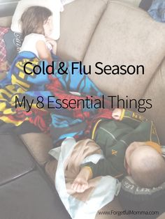 My essentials for when our family starts sniffling and sneezing, or complaining…