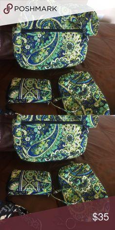 Vera Bradley 3 piece bundle Great Condition Vera Bradley bundle Bags Crossbody Bags