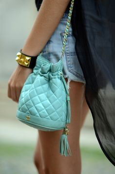 Chanel Bag.Leather bags for girls  #leather #bags  #girls   www.loveitsomuch.com