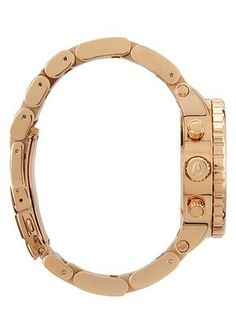 NIXON, UNISEX ROSE GOLD WATCH      A Blush of Rose Gold: The Nixon 42-20 Chrono watch delicately balances its feminine design with its high-performance technical abilities. Bangles, Bracelets, Cartier Love Bracelet, Gold Watch, Blush, Feminine, Rose Gold, Unisex, Watches