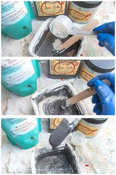 Mixing Dixie Belle Sea Spray Texture into Paint Spray Paint Furniture, Painted Furniture, Painted Armoire, Furniture Makeover, Furniture Ideas, Old World Furniture, Furniture Movers, Sea Spray, Dixie Belle Paint