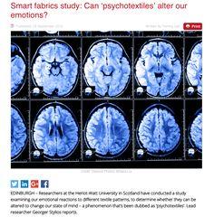 Researchers Identify Fibromyalgia Brain Signature that Might Improve Diagnosis, Treatment Chronic Fatigue Symptoms, Chronic Fatigue Syndrome, Universities In Scotland, Heriot Watt University, Smart Textiles, Textile Patterns, Alters, Study, Canning