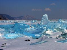 Lago Baikal en Invierno - Lac Baïkal — Wikipédia