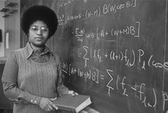 Dr Shirley Jackson, 1973-First black female to earn a doctorate from MIT, research asst @ Fermilab, visiting scientist @ CERN, theoretical physicist @ Bell Labs, chairman of the US Nuclear Regulatory Commission, & now highest paid US president college univ