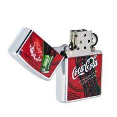 Coca-Cola Flip Up Zippo Lighter
