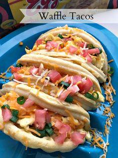Waffle Tacos #EggoBTSTarget #ad