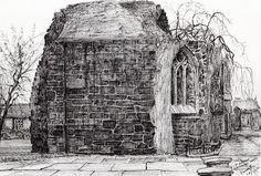 Blackfriars Chapel St Andrews Drawing