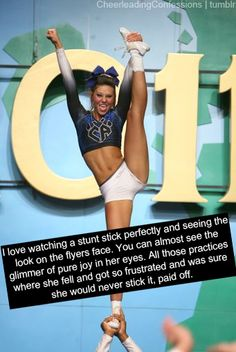 Cheerleading Confessions Well, they do say practice makes perfect; Cheer Athletics, Cheer Stunts, Cheer Dance, Cheer Jumps, All Star Cheer, Cheer Mom, Gabby Douglas, Leadership Quotes, Cheer Qoutes