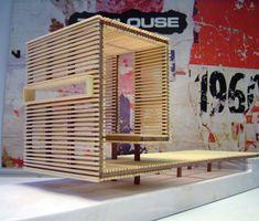 Design mobilier urbain en bois