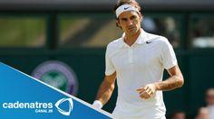 ¿Te lo perdiste? Federer y Djokovic avanzan a las semifinales de Wimbledon
