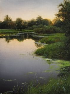Kanaka Creek Dusk Study by Renato Muccillo so beautiful