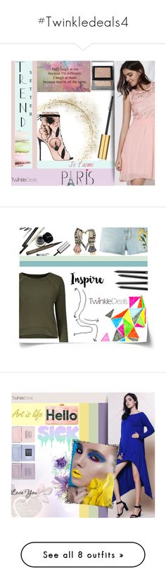 """""""#Twinkledeals4"""" by juromi on Polyvore featuring moda, trend, women, powerful, twinkledeals, Nails Inc., Camp, Jayson Home, WALL i Tattify"""