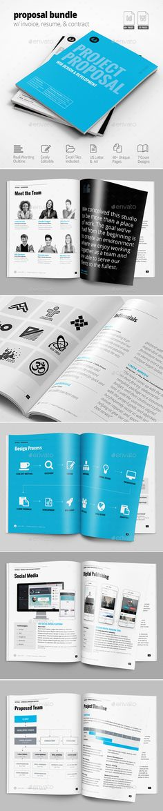Letterhead Proposals, Proposal templates and Template