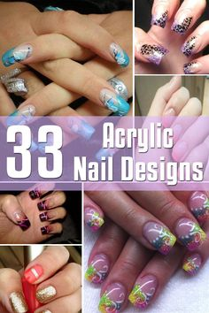 33 Acrylic Nail Designs | Nail Design Gallery