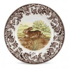 "Spode Woodland Salad Plate 8"" (Rabbit) - Woodland - Collections -Spode USA"