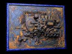 Dieselusion - mixed media sculpture by Jud Turner - copyright 2010