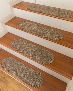 Gardenia Cotton Carpet Stair Treads (Set Of 13)