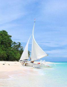 Puka Beach,Boracay, Philippines. The unparallel beauty of Philippine beaches.