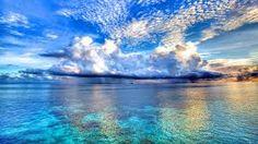 """Sea Storm, The Maldives"""