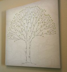 Wanna do this for my mom for her birthday.   SIGNATURE FAMILY TREE Display your heritage with a tree created using your family names and featuring the country or state of birth of each person. Since every family has different names with unique properties, every tree is custom created by a professional designer. The result is a work of art that will become a family treasure.