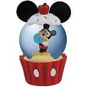 Disney Mickey Mouse Cupcake Water Globe