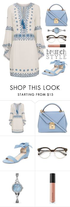 """""""Untitled #40"""" by luanafernand ❤ liked on Polyvore featuring Talitha, Mark Cross, Elorie, Allurez and Bare Escentuals"""