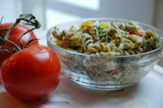 Spinach Pesto Pasta Salad with Chicken : Multiply Delicious- The Food