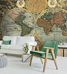 80 Best World Map Wallpapers Images World Map Wallpaper Mural Art