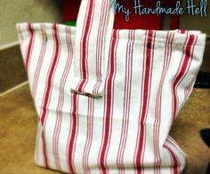 DIY Lined Lunch Bag - the Instructable!