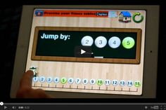 Math Coachs Corner: Appy Hour: Little Monkey Number Lines. Terrific free app for introducing and practicing number line skills for young learners.  Includes activities for sequencing, jumping forward (addition), jumping backward (subtraction), and skip counting.