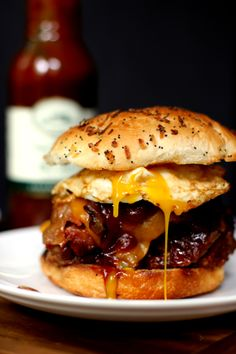 Grilled Barbecue Bacon Meatloaf Sandwich created by Melanie Makes #robertrothschildfarm
