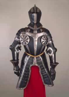 Half-Armour, Place of creation: Germany Date: Between 1550 and 1580 School: Nuremberg Material: steel and leather Technique: chased