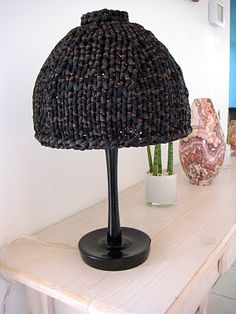 Knitted  Lamp of Zpagetti