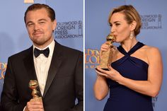 Leonardo DiCaprio and Kate Winslet Had a Mini-Titanic Reunion at the Golden Globes | Vanity Fair