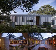 Looks like a modern interpretation of the Australian fibro beach shack.