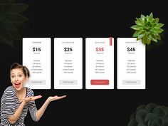 Pricing Table by abscondet