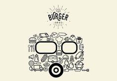 Ideas food truck hamburguer logo for 2019 Monster Truck Cupcakes, Monster Truck Birthday, Burger Bros, Food Truck Design, Food Design, Best Food Trucks, Logo Restaurant, Logo Food, Creating A Brand
