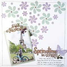 Scrpabook Layout Featuring MultiCraft Products | Designed by Kerry Engel | Creative Scrapbooker Magazine #scrapbooking #12X12layout