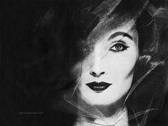 Evelyn Tripp 1956 - photo by Erwin Blumenfeld