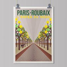 L'Enfer du Nord: Paris - Roubaix.