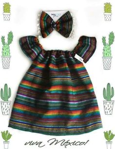 Ideas For Party Fashion Kids Fiesta Outfit, Mexican Outfit, Mexican Dresses, Mexican Baby Dress, Baby Outfits, Kids Outfits, Cute Outfits, Cute Baby Girl, Cute Babies
