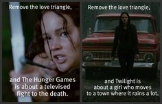 Seriously. What's left in Twilight without Edward & Jacob? Go ahead, I'll wait...