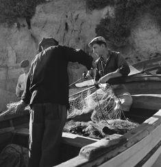 Algarve, Portugal, Vie Simple, Vintage Photographs, Sailing, Photography, 1950, Twitter, Black