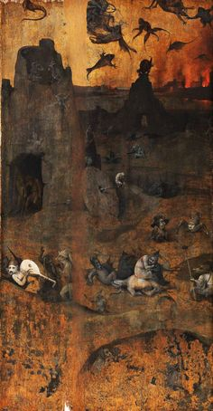 Hieronymus Bosch -The Fall of the Rebel Angels